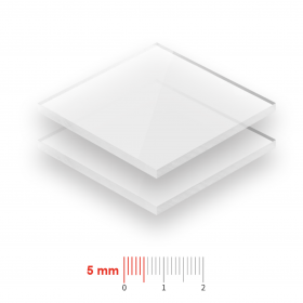 Plexiglas Opaal 5mm