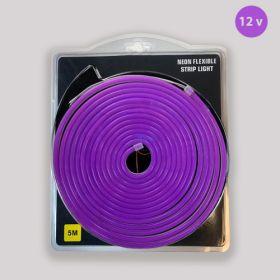 Led Neon Strip Paars 12v waterdicht IP68 SMD2835