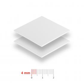 Geschuimd PVC 4mm