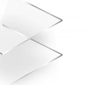 Plexiglas Transparant 2mm