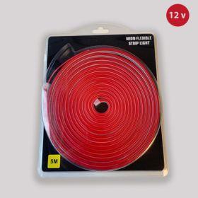 Led Neon Strip Rood 12v waterdicht IP68 SMD2835