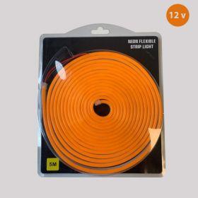 Led Neon Strip Oranje 12v waterdicht IP68 SMD2835