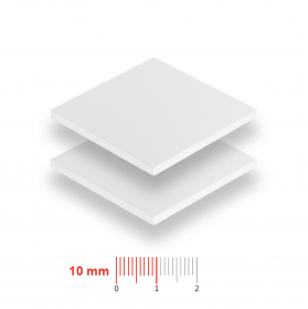 Geschuimd PVC 10mm