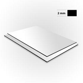 Aluminium sandwichplaat wit 2mm