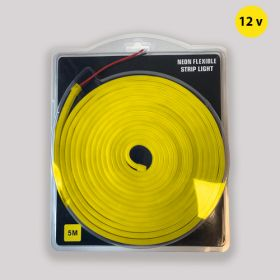Led Neon Strip Goud Geel 12v waterdicht IP68 SMD2835