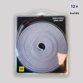 Led Neon Strip Koel Wit 12v waterdicht IP68 SMD2835