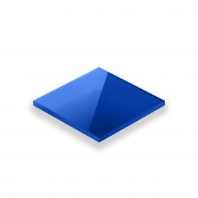 Plexiglas Blauw 3mm